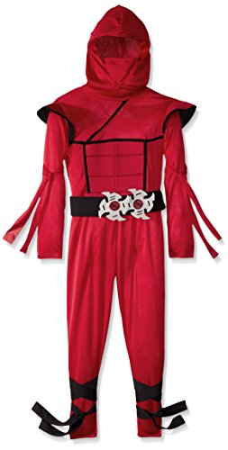 [California Costumes Stealth Ninja Child Costume, Small] (Red Halloween Kids Costumes)
