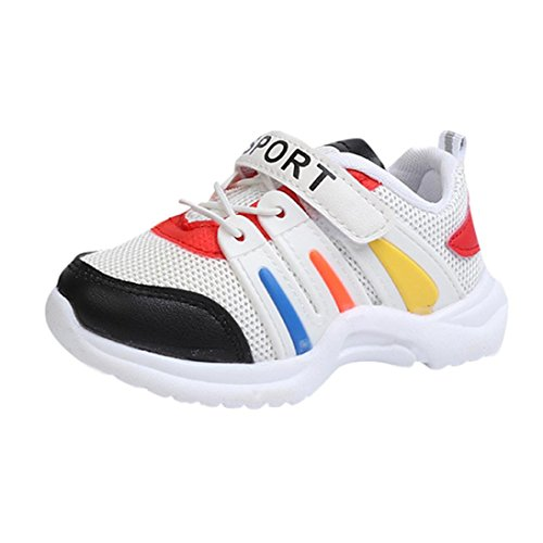 WOCACHI Baby Girls Shoes Toddler Sport Running Sneakers for Baby Boys Girls Mesh (6mt 6 Light)