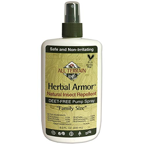 All Terrain Herbal Armor Natural Insect Repellent, DEET-Free Pump Spray