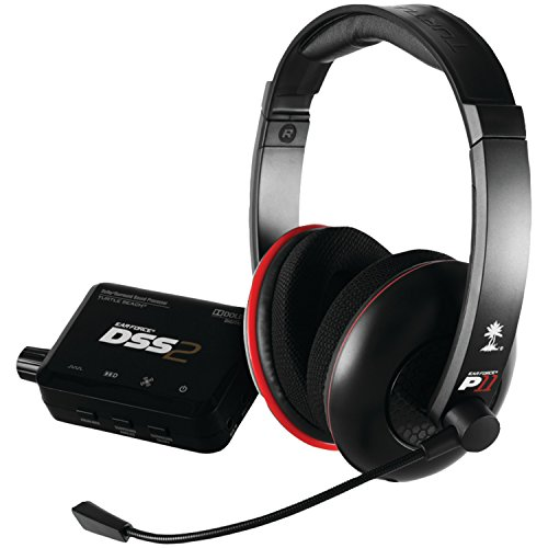 Turtle Beach - Ear Force DP11 Gaming Headset - Dolby Surround Sound - PS3 (Best Surround Sound Gaming Headset Ps3)