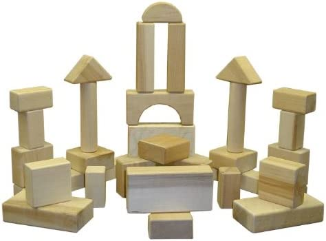Beka 06028 The Innovator 28-Piece Wooden Block Set