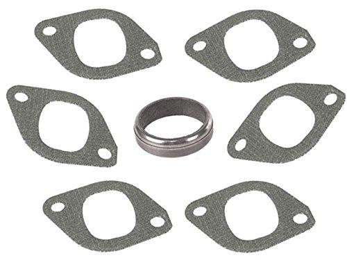 BMW 6cyl (70-82) Exhaust Seal KIT (7 pcs) Manifold Ring