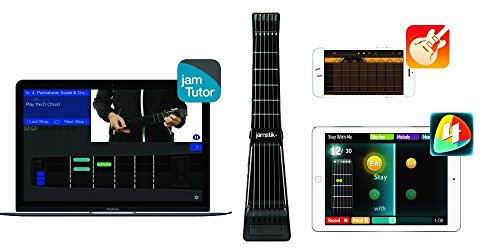 Jamstik+ Black Portable App Enabled MIDI Electric Guitar, for Beginners and Music Creators, iOS, Android & Mac Compatible, with Bluetooth Connectivity, Powered by Zivix by Zivix (Image #9)