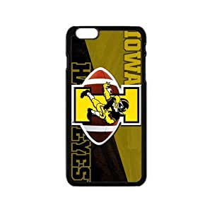 Generic Customize Unique Otterbox--NCAA Iowa Hawkeyes Team Logo Plastic Case Cover for iPhone6