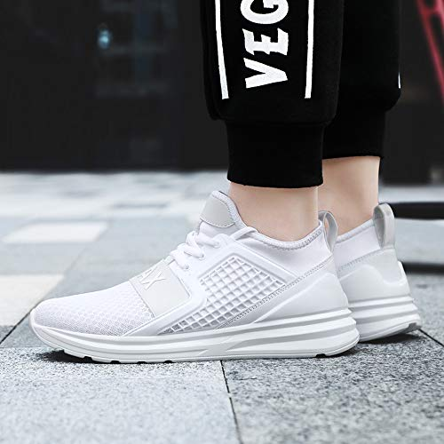 Gym Mode Homme Outdoor Sneakers Basket Blanc Fitness Course Casual Multisports Athlétique Sports Chaussures De qw1TwB