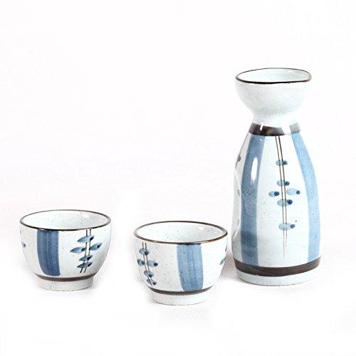 Coffret Service à Sake Ou Alcool - Spécial Tradition du Japon Lachineuse