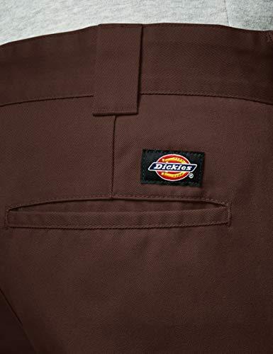 Dickies Work Para chocolate Hombre Cb Pantalones Fit Brown Marrón Slim r4aCqr