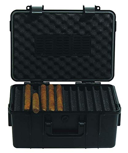 F.e.s.s. Armour 60 Cigars Waterproof, Dustproof, Shockproof Premium Travel Case Humidor