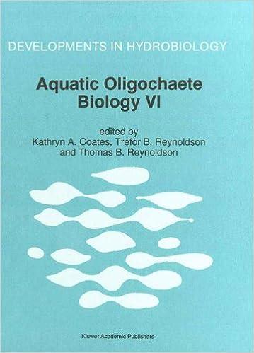 aquatic oligochaete biology v reynoldson trefor b coates kathryn a