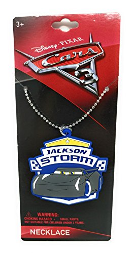 Disney Cars 3 Jackson Storm Necklace Pixar