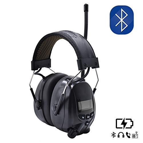 Inf Protear Bluetooth AM FM Radio Headphones