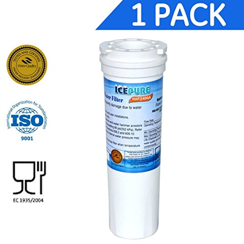 RWF2400A 1PACK Refrigerator water filter compatible with Fisher & Paykel 836848,836860,