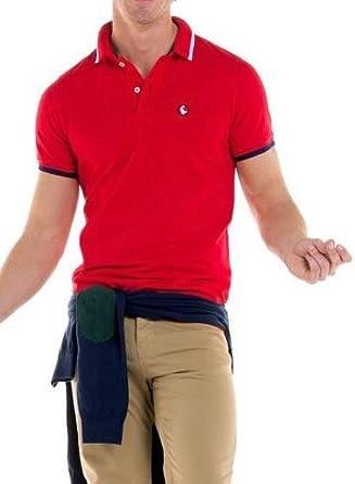 El Ganso Polo Pique Rojo XXL Rojo: Amazon.es: Ropa y accesorios