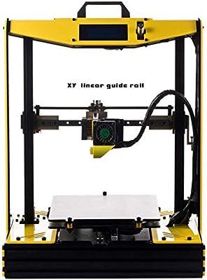 LJW A Pequeña Escala FDM Impresora 3D Metal Casa Negocios ...