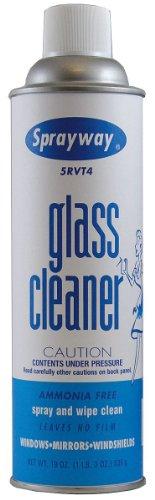 Glass Cleaner, 19 oz., White