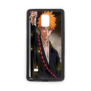 Samsung Galaxy Note 4 Cell Phone Case Black Bleach Ichigo 2 Szswq