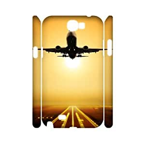 ANCASE Airplane Customized Hard 3D Case For Samsung Galaxy Note 2 N7100