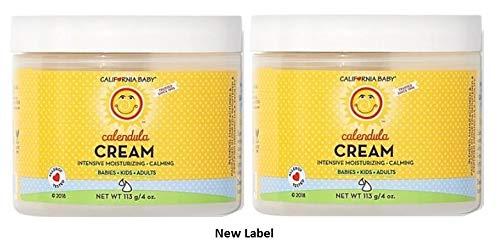 California Baby Calendula Cream - 4 oz - 2 pk by California Baby (Image #1)