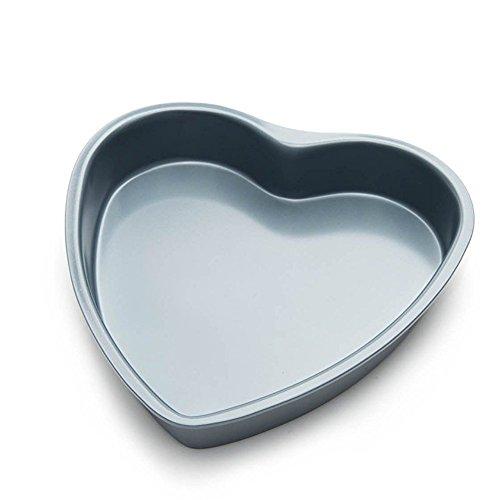 Fox Run 4458 Heart Cake Pan, 8-Inch, Preferred Non-Stick