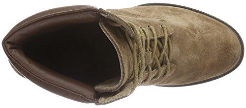 XTI Damen 65215 Combat Boots, Beige (Taupe), 38 EU