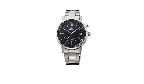 Amazon.com: ORIENT watch STYLISH AND SMART stylish and smart solar radio WV0101SE black WV0101SE: Watches