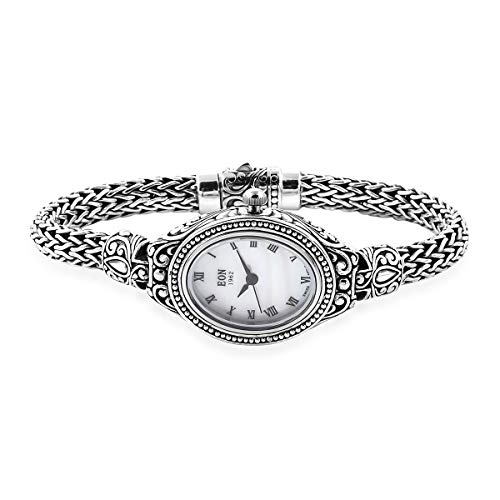 """Tulang Naga Bracelet Watch 925 Sterling Silver Jewelry for Women Size 8"""" from Shop LC Delivering Joy"""