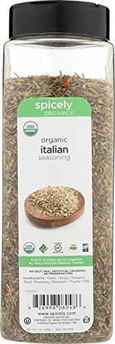 - Spicely Organic Italian Seasoning 7 Oz Certified Gluten Free