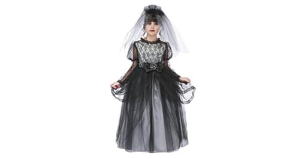 Amazon.com: Sólo Pretend Kids disfraz novia con aro y velo ...