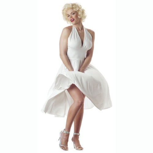 Sexy Marilyn Monroe Costume - Small - Dress Size 6-8 (Marilyn Monroe Fancy Dress Size 8)