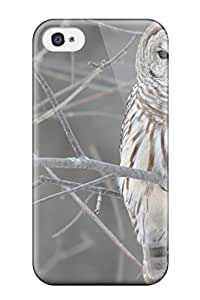Leana Buky Zittlau's Shop 9750273K21707700 Hot White Owl Tree Tpu Case Cover Compatible With Iphone 4/4s