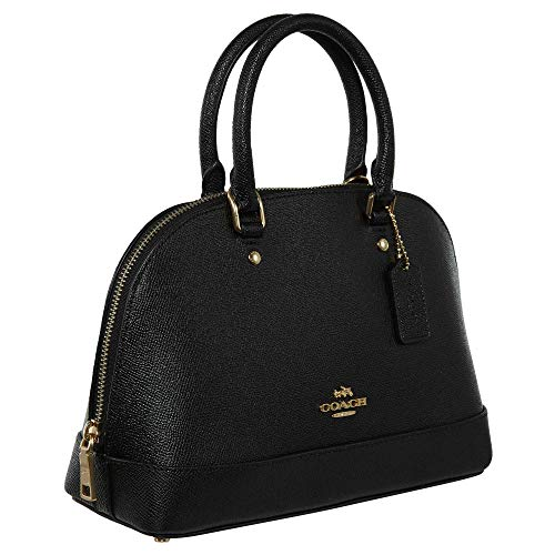 Shoulder Sierra Handbag Women��s Purse Inclined Satchel Mini Coach Shoulder Black qOUatO