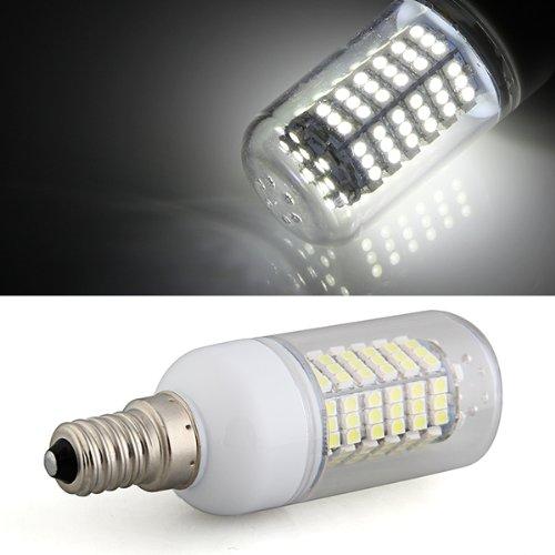 E14 7W Bombilla Lampara Foco Luz Blanco 120 LED 3528 SMD AC 220V 6500K: Amazon.es: Iluminación