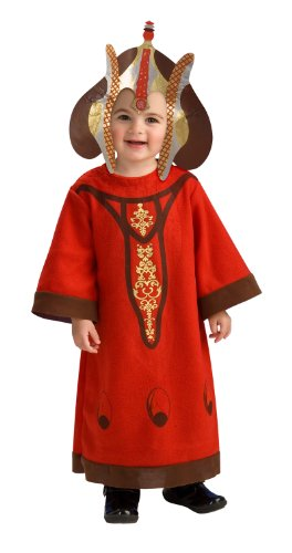 Star Wars Romper And Headpiece Queen Amidala, Amidala Print, 6-12 Months