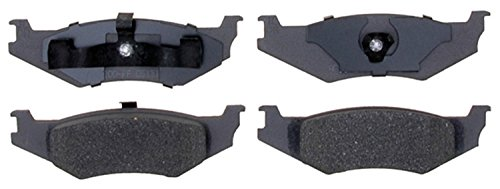 ACDelco 14D415M Advantage Semi-Metallic Rear Disc Brake Pad Set with Wear Sensor