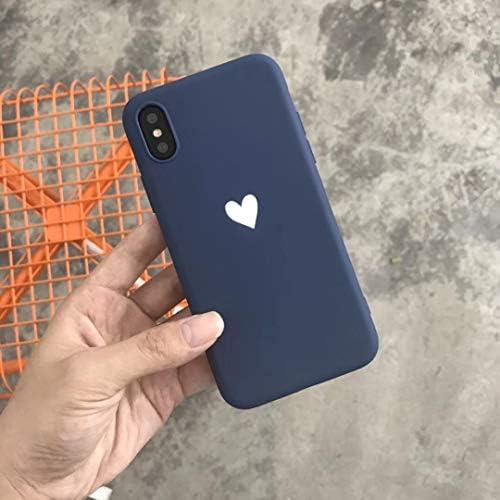 iPhoneXS Max iPhoneXSMax iPhoneXR iPhoneX iPhone8 iPhone8Plus ケース iPhone7 Plus TPU シリコン カバー パステルカラー かわいい おしゃれ 韓国 人気 可愛い 大人 海外 iPhoneケース】 (iphoneX/XS, レッド)