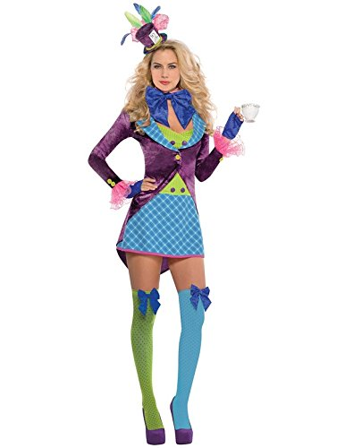 [Womens Mad Hatter Costume Size Large (10-12)] (Mad Hatter Costume 10/6)