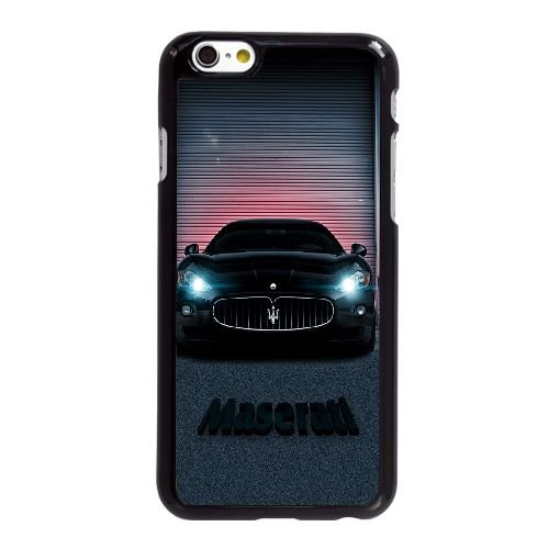Schwarz Maserati AZ94BR5 iPhone 6 6S 4,7-Zoll-Handy-Fall Hülle X4ST5T5HB