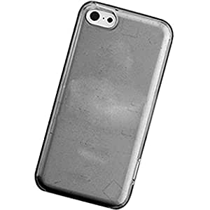 PiGGyB Crystal Skin TPU Silicone Series Case for Apple iPhone 5S Trans. Smoke
