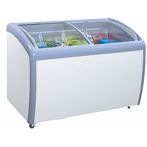 Atosa MMF9112 Angle Curved Top Chest Freezer 12 Cubic Feet by Atosa