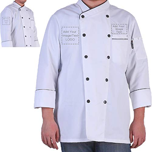 Personalized Customized Chef Jacket- Men