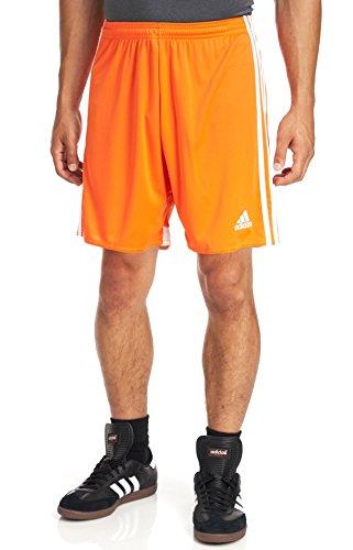 adidas Men's Regista 14 Shorts - Orange, Orange/White, Small