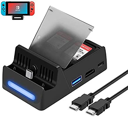 HEYSTOP Switch Dock Base de Carga para Nintendo Switch con Cable ...