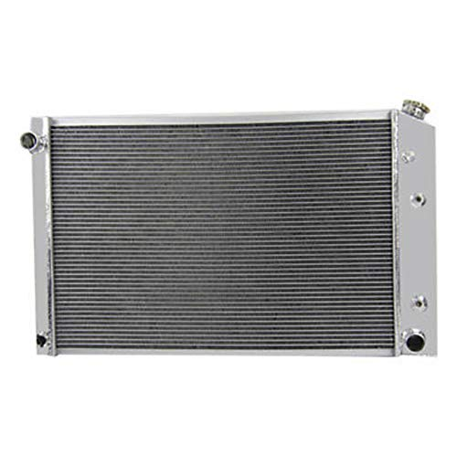 OzCoolingParts New Pro 3 Row Full Aluminum Radiator for GMC - Chevy C/K Series - Jimmy Pickup Truck - V8 1973-1991 ()