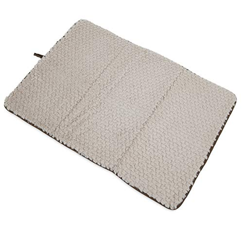 (Whisker Doodle Bedding, Luxe Carrier Mat for Dog Crates-33 x23)