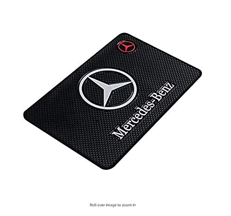 Electronic Devices ephvan High Temperature Resistance Medium 7.5Inch Leather Surface Anti-Slip Non-Slip Mat Car Dashboard Pad Mat Phone Keyboard Other Smooth Items /… for volkswagen CD