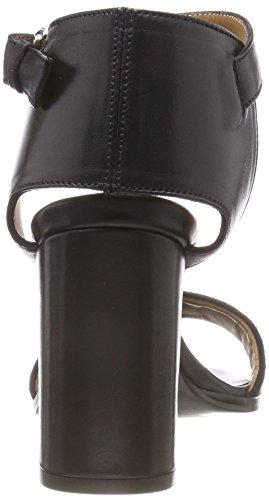 Filippa K Lacey High Sandal, Scarpe con Cinturino Donna Nero (Black Sued 3618)