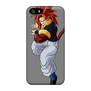 Awesome GVI1580czsV Elaney Defender Tpu Hard Case Cover For Iphone 5/5s- Tails Dragon Ball Z Gogeta