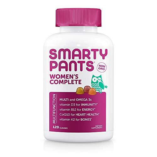 SmartyPants Women's Complete Daily Gummy Vitamins, 120 - Apparel Mutli