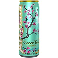 ARIZONA GREEN TEA Blik 12 x 0,5 liter