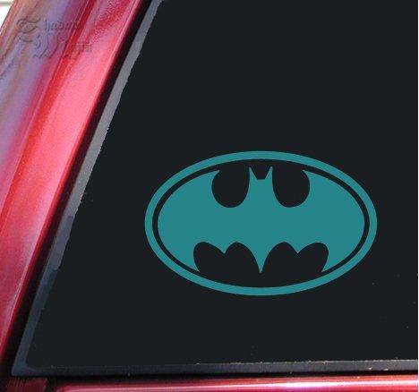 Batman Bat Symbol Vinyl Decal Sticker - Teal